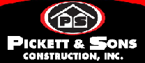 Pickett and Sons Construction Inc.